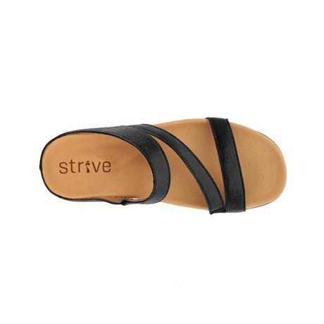 スニーカー感覚で歩き回れる「サンダル」|TRIO  / UK5(24-24.5cm) 独自開発の立体インソールで、スニーカーみたいに歩き回れる「サンダル」|strive|ブラックスパークル