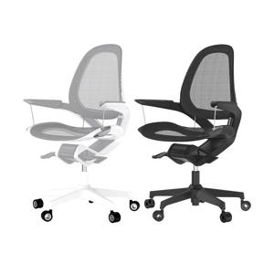 意識しないで、いつでも「気持ちいい仕事姿勢」が続く!座面が動くワーキングチェア|Elea Chair