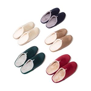 靴の製法でつくったから、ボアつきなのに歩きやすい「モコモコスリッパ」|room's moco
