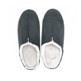 寒い日も、スキップしたくなる『スリッパ』|靴の製法でつくったから、ボアつきなのに歩きやすい「モコモコスリッパ」|room's moco|グリーン/L(25-27cm)