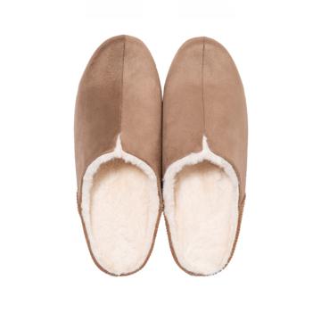 寒い日も、スキップしたくなる『スリッパ』|靴の製法でつくったから、ボアつきなのに歩きやすい「モコモコスリッパ」|room's moco|(MONOCO限定色)ライトブラウン/L(25-27cm)