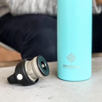 「指3本」で密閉できる魔法瓶|《オプション》専用キャップ(REVOMAX専用)