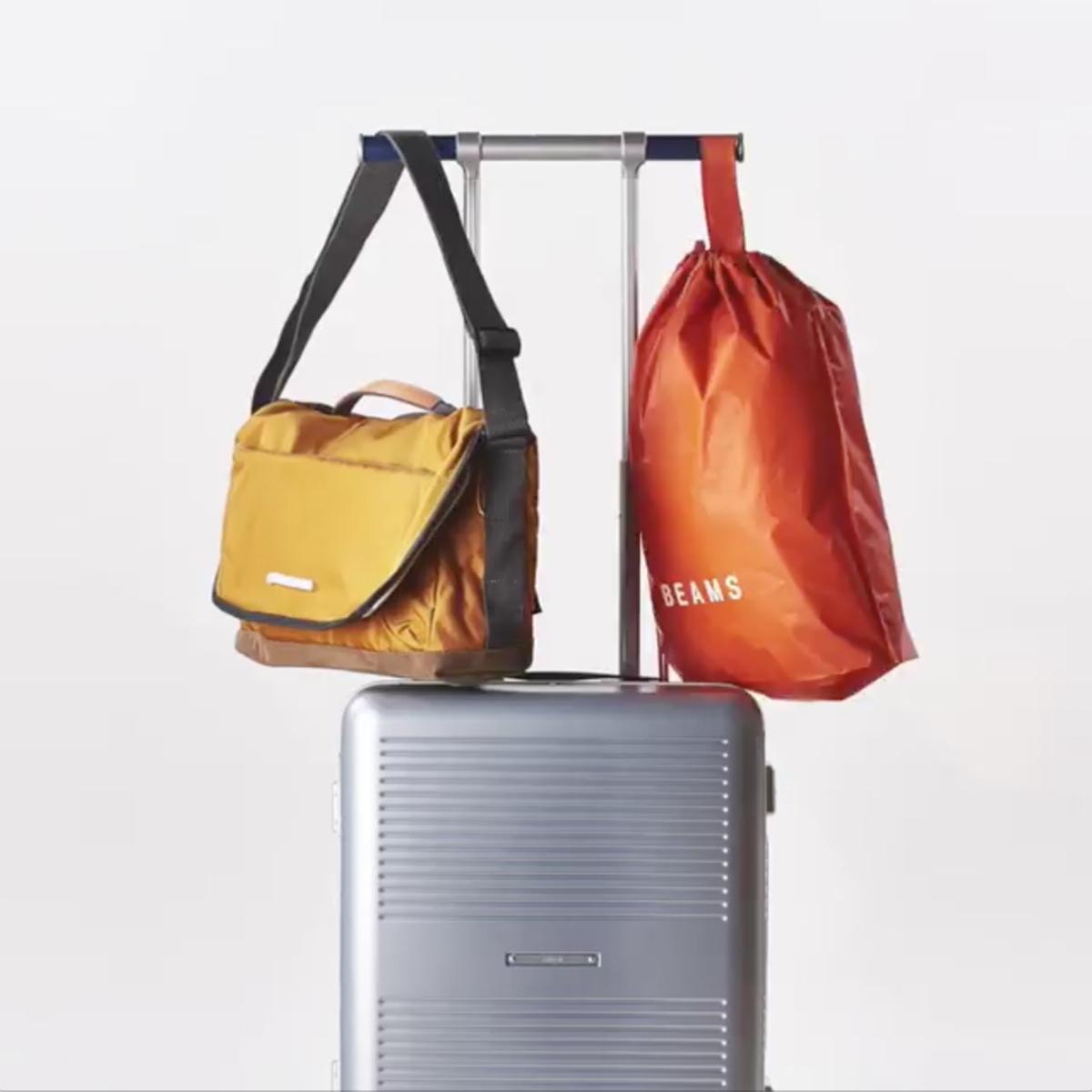 """一緒に""""歩きたい""""スーツケース 《Type B/88L》手を添えるだけで滑らかに走行、""""気の利く""""設計であなたの旅路に寄り添うスーツケース(7泊〜) RAWROW"""