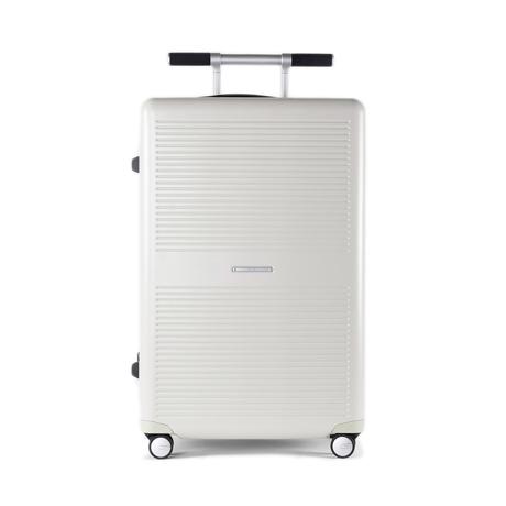 """一緒に""""歩きたい""""スーツケース 《Type B/88L》手を添えるだけで滑らかに走行、""""気の利く""""設計であなたの旅路に寄り添うスーツケース(7泊〜) RAWROW アイボリー(在庫限り)"""