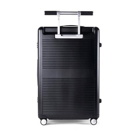 """一緒に""""歩きたい""""スーツケース 《Type B/88L》手を添えるだけで滑らかに走行、""""気の利く""""設計であなたの旅路に寄り添うスーツケース(7泊〜) RAWROW ブラック(在庫限り)"""