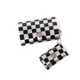 大人のための『遊びウォレット』|《シルバーコレクション》これひとつで、ジム・旅行・アウトドアへ!ミニマム構造がかなえる、軽量&収納力の「ミニ財布」|SALLIES|チェッカー/ブラック