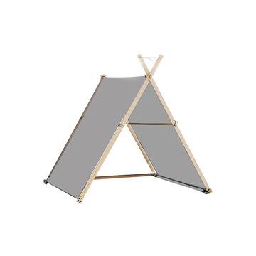 《中サイズ/ ÎLE D'YEU MT》風を感じながら、読書や子どもとの時間をゆったり楽しめる「帆布テント」|LA TENTE ISLAISE
