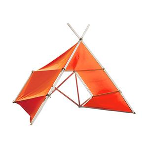 《大サイズ/ ÎLE D'OLÉRON MT》風を感じながら、読書や子どもとの時間をゆったり楽しめる「帆布テント」|LA TENTE ISLAISE