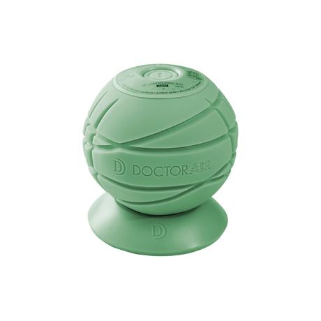 身体中をほぐしながら転がる「ブルブル丸」 毎分3,500回の振動+ヒーター機能で、筋肉を奥深くから揺さぶる「ミニストレッチボール」 3Dコンディショニングボールスマート グリーン(完売)