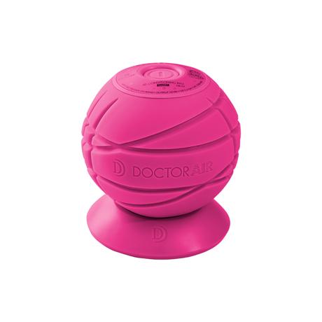 身体中をほぐしながら転がる「ブルブル丸」 毎分3,500回の振動+ヒーター機能で、筋肉を奥深くから揺さぶる「ミニストレッチボール」 3Dコンディショニングボールスマート ピンク(完売)