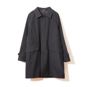 《ステンカラーコート》これ一着で36〜42℃に温度調整できる、脱ぎ着不要の次世代通勤コート|HEATIER