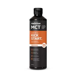 《250mlボトル》実は、ブドウ糖より速くエネルギーになる「MCTオイル」|KICKSTART