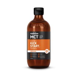 《500mlボトル》実は、ブドウ糖より速くエネルギーになる「MCTオイル」|KICKSTART
