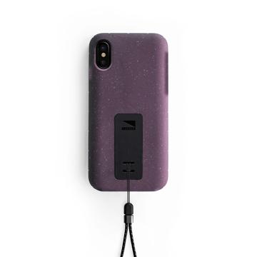 "iPhoneに着せたい""断熱アウター""|《iPhone X,XS/iPhone XS Max》気温によるバッテリー消耗を防ぎ、耐衝撃性に優れたスマホケース|LANDER MOAB CASE|iPhoneX,XS/パープル(完売)"