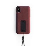 "iPhoneに着せたい""断熱アウター""|《iPhone X,XS/iPhone XS Max》気温によるバッテリー消耗を防ぎ、耐衝撃性に優れたスマホケース|LANDER MOAB CASE|iPhoneX,XS/レッド"