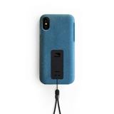 "iPhoneに着せたい""断熱アウター""|《iPhone X,XS/iPhone XS Max》気温によるバッテリー消耗を防ぎ、耐衝撃性に優れたスマホケース|LANDER MOAB CASE|iPhoneX,XS/ブルー"