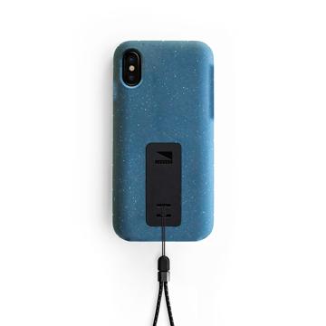 "iPhoneに着せたい""断熱アウター""|《iPhone X,XS/iPhone XS Max》気温によるバッテリー消耗を防ぎ、耐衝撃性に優れたスマホケース|LANDER MOAB CASE|iPhoneX,XS/ブルー(完売)"