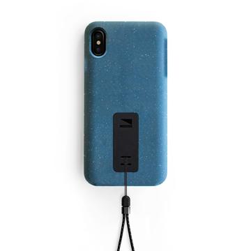 "iPhoneに着せたい""断熱アウター""|《iPhone X,XS/iPhone XS Max》気温によるバッテリー消耗を防ぎ、耐衝撃性に優れたスマホケース|LANDER MOAB CASE|iPhoneXS Max/ブルー(在庫限り)"