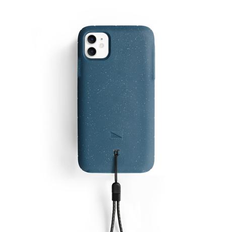 """iPhoneに着せたい""""断熱アウター"""" 《iPhone 11/iPhone 11 Pro》気温によるバッテリー消耗を防ぎ、耐衝撃性に優れたスマホケース LANDER MOAB CASE iPhone11/ブルー"""