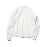 100年前のスウェット、復刻|《WHITE/フットボールシャツ》肩まわり軽やかな独自のディテール、スポルディング社の名作から再構築されたスウェット|A.G. Spalding & Bros|L