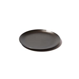 《小皿/菓子皿や料理の取り分けに》落としても割れない、黒染めステンレスの器(直径126mm)|96
