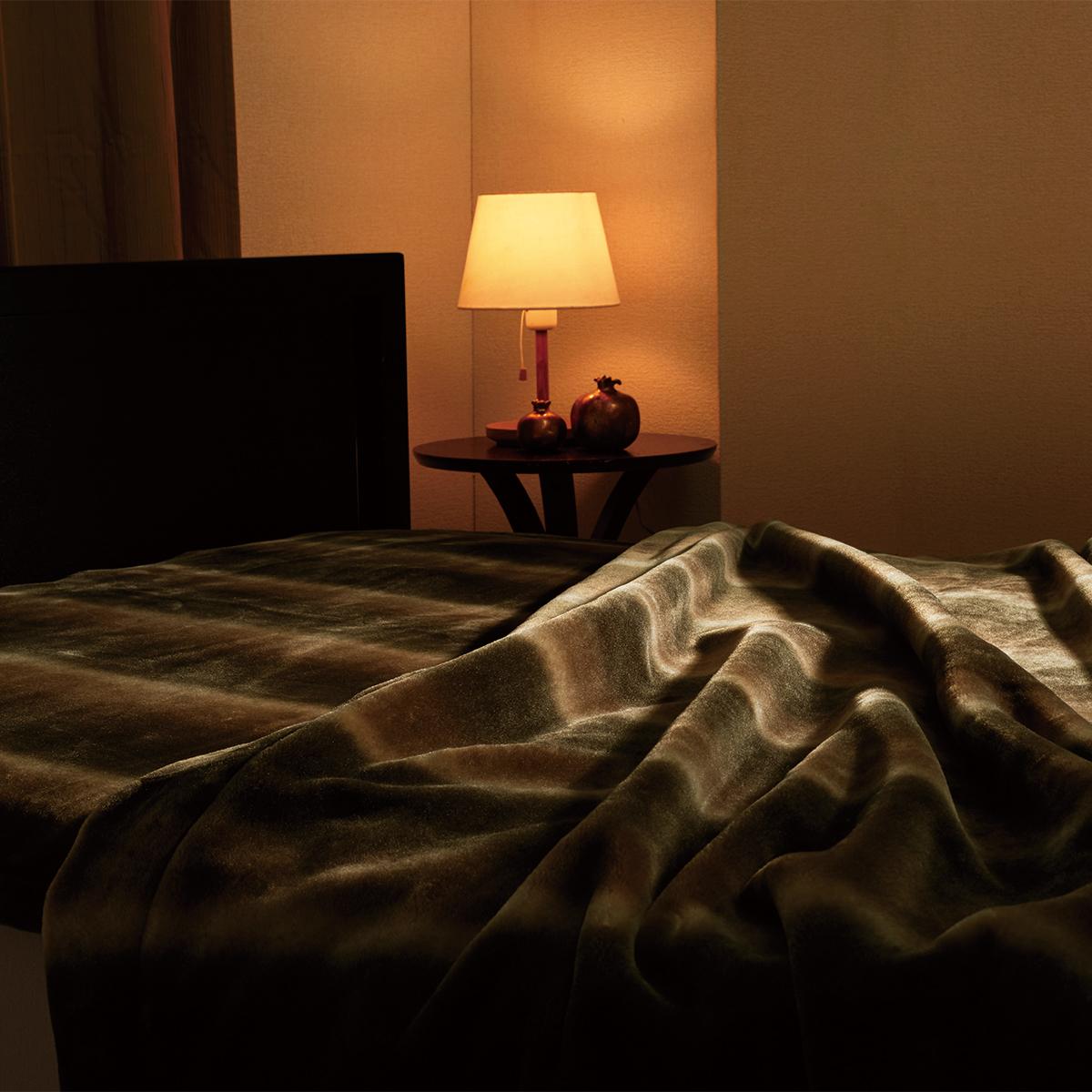 寝心地がまるで違う「毛布」|《敷毛布/ダブル》暖かさはもう当たり前、軽さとなめらかさも実現した「毛布」|CALDONIDO NOTTE