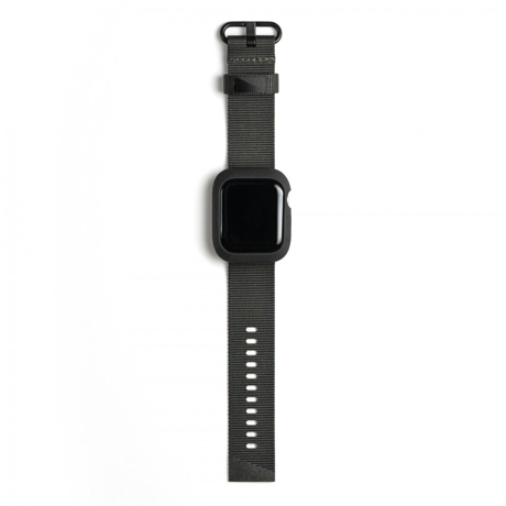ユタ州の大自然が生んだ「Apple Watchバンド」|《40/44mm》落下・衝撃・水濡れに強い、タフケース一体型のApple Watchバンド(Series 4/5)|LANDER|44mm