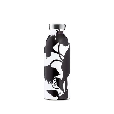 """まだ、「ペットボトルの水」 買ってるの? 《CLIMA-500ml》""""私らしさ""""を選べる、イタリアンデザイン光る「マイボトル」 24Bottles BLACK DAHLIA"""