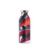 """まだ、「ペットボトルの水」 買ってるの? 《CLIMA-500ml》""""私らしさ""""を選べる、イタリアンデザイン光る「マイボトル」 24Bottles FLOWER FLAME"""