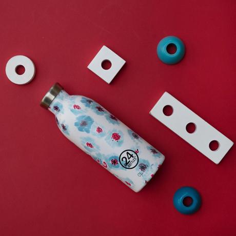 """まだ、「ペットボトルの水」 買ってるの? 《CLIMA-500ml》""""私らしさ""""を選べる、イタリアンデザイン光る「マイボトル」 24Bottles EARLY BREEZE"""