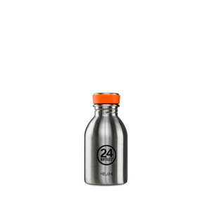 "《URBAN-250ml STEEL》""私らしさ""を選べる、イタリアンデザイン光る「マイボトル」|24Bottles"