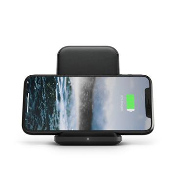 "《Stand》iPhone、AirPodsを""置くだけ""で美しく充電、そのままスマホチェックも快適な「ワイヤレス充電スタンド」| NOMAD | Base Station"