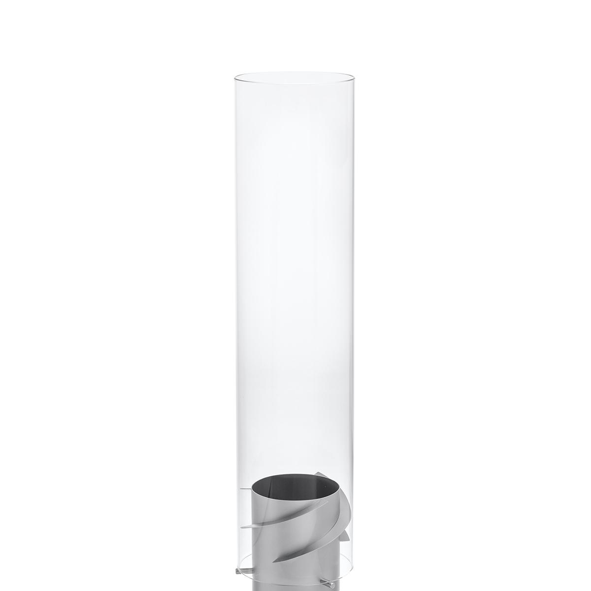 乾杯のあとは…「旋回ファイヤー!」 《オプション/交換用ガラスカバー》万が一の破損時や予備パーツとして、「SPIN」専用の耐熱ガラス製カバー Höfats