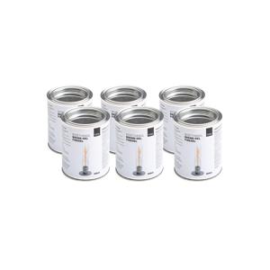 《オプション/燃料缶500ml × 6本セット》煙やニオイがほとんど出ない、安全仕様の「SPIN」専用ジェル状燃料|Höfats