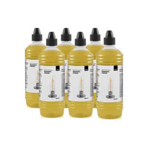 《オプション/詰め替え用燃料ボトル1ℓ × 6本セット》煙やニオイがほとんど出ない、安全仕様の「SPIN」専用ジェル状燃料|Höfats