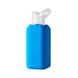 あらためて、「常温の水」ってうまい!|ホットもOK!口当りのよい手づくりガラス製マイボトル|Squireme|Blue