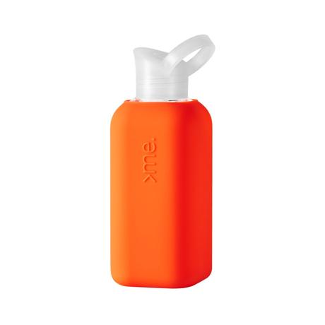 あらためて、「常温の水」ってうまい!|ホットもOK!口当りのよい手づくりガラス製マイボトル|Squireme|Coral
