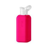 あらためて、「常温の水」ってうまい!|ホットもOK!口当りのよい手づくりガラス製マイボトル|Squireme|Pink