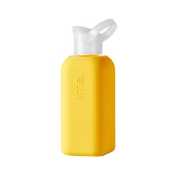 あらためて、「常温の水」ってうまい!|ホットもOK!口当りのよい手づくりガラス製マイボトル|Squireme|Yellow