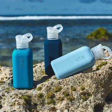 あらためて、「常温の水」ってうまい!|ホットもOK!口当りのよい手づくりガラス製マイボトル|Squireme