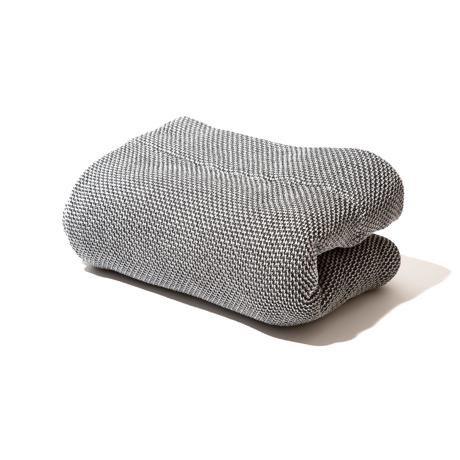 「熟睡」を追求したタオルケット|《シングルケット》凹凸状のハニカム織りが、汗と湿気を逃がすケット|ハニカムケット|ブラック