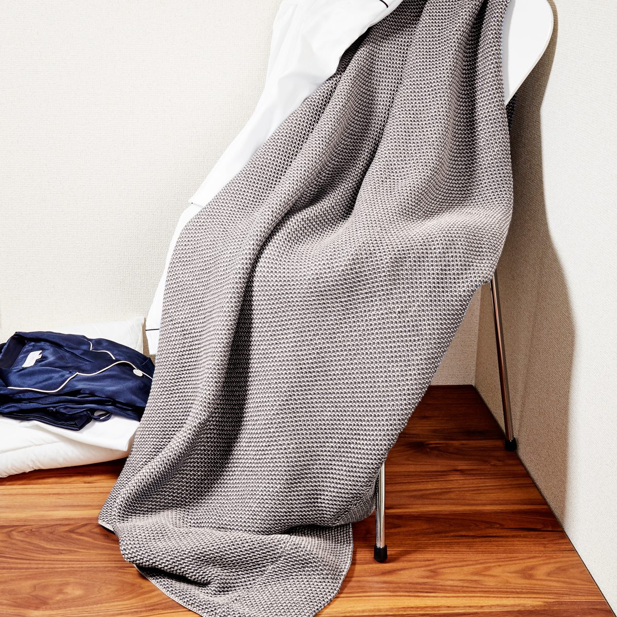 「熟睡」を追求したタオルケット|《シングルケット》凹凸状のハニカム織りが、汗と湿気を逃がすケット|ハニカムケット