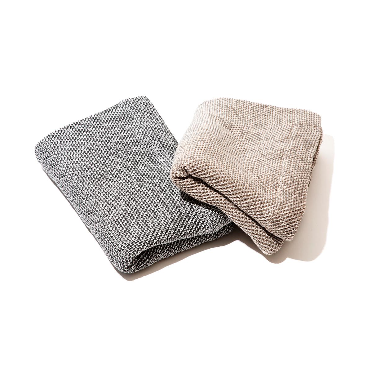 「熟睡」を追求したタオルケット|《ハーフケット》凹凸状のハニカム織りが、汗と湿気を逃がすケット|ハニカムケット