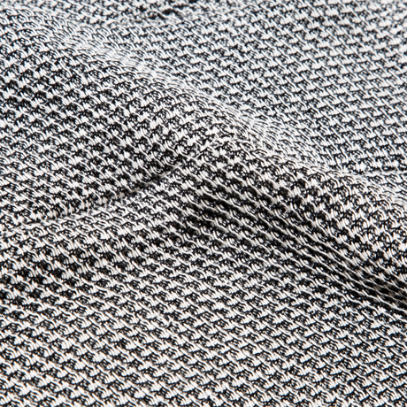 「熟睡」を追求したタオルケット|《ハーフケット》凹凸状のハニカム織りが、汗と湿気を逃がすケット|ハニカムケット|ブラック