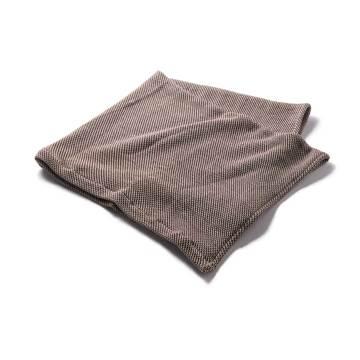 「熟睡」を追求したタオルケット|《ハーフケット》凹凸状のハニカム織りが、汗と湿気を逃がすケット|ハニカムケット|コーヒーブラウン