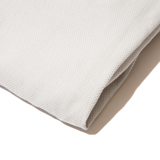 「熟睡」を追求したタオルケット|《ボックスシーツ》凹凸状のハニカム織りが、汗と湿気を逃がすケット|ハニカムケット|グレー