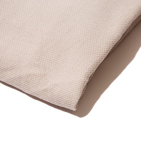 「熟睡」を追求したタオルケット|《ボックスシーツ》凹凸状のハニカム織りが、汗と湿気を逃がすケット|ハニカムケット|グレージュ