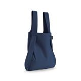 一瞬でリュックになる「変身エコバッグ」|《新色》ひっぱるだけ、リュックにもトートにもなる特許構造の「エコバッグ」|notabag|Navy Blue
