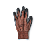 家事にDIYに「やる気手袋」|スマホにタッチOK!ネジもつまめる抜群のフィット感で、指先がスイスイ動く「作業用手袋」|workers gloves|LARGE/brown