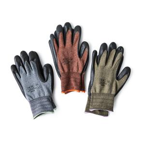 スマホにタッチOK!ネジもつまめる抜群のフィット感で、指先がスイスイ動く「作業用手袋」|workers gloves